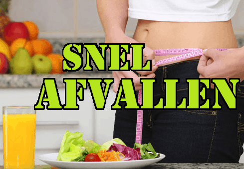 0 5 kilo afvallen per week
