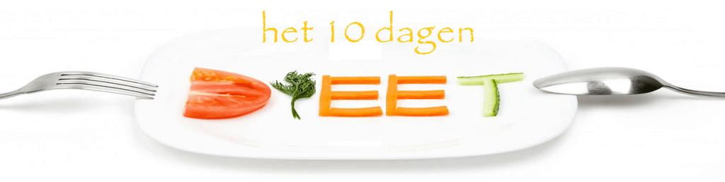 Afvallen met het 10 dagen dieet is niet blijvend