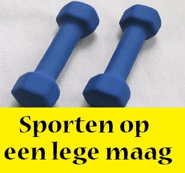 sporten-op-een-lege-maag