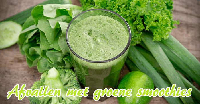 Afvallen met groene smoothies
