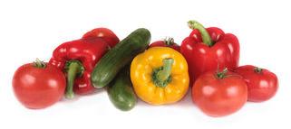 Hartige groene smoothies met paprika