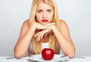 Ongezond crash dieet