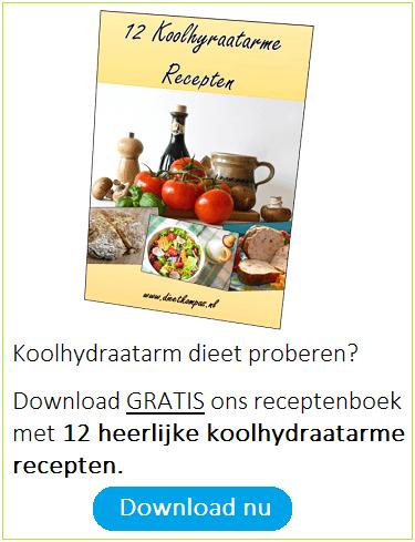 12 koolhydraatarme recepten