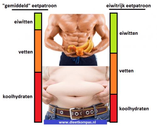 eetpatroon afvallen